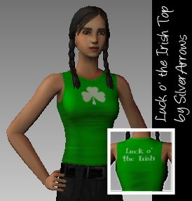 Lucky Irish Top