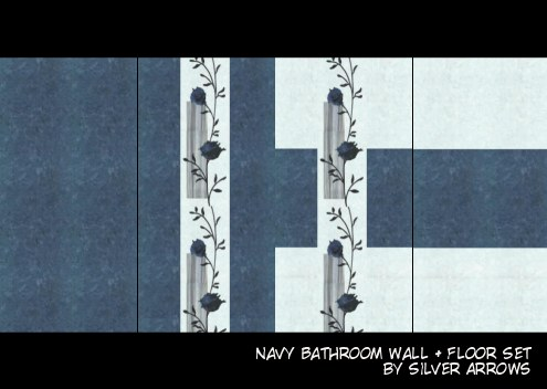 navybathroomflat
