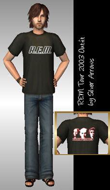 REM Tour 2003 Outfit