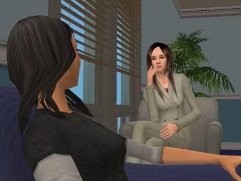 Emma, Jasmine's counsellor… or should I say, Lana Chan..?