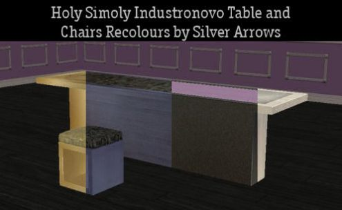 Industronovo Tables and Chairs