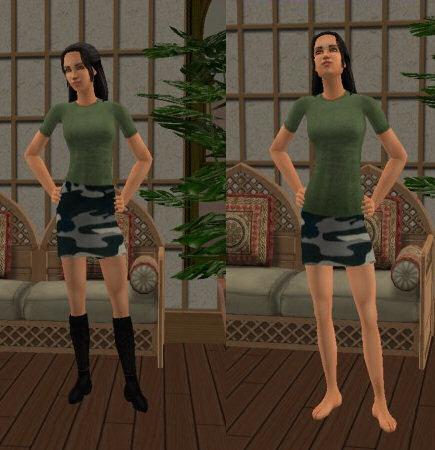 Camo Skirts