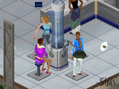 The Sims 1 Oxygen Bar