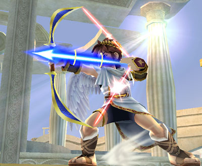 kid icarus and his magic arrows