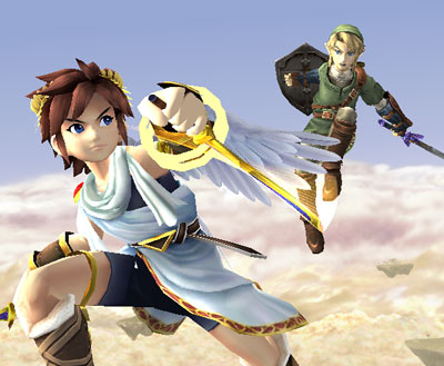 kid icarus and link